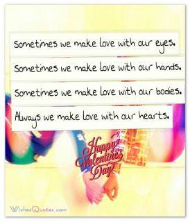 Love with our hearts