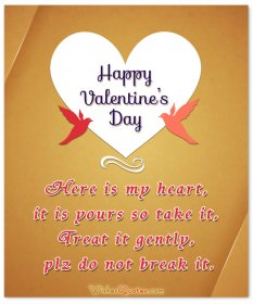 Valentine's Day Love SMS Messages