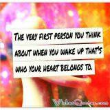 Your heart belongs to