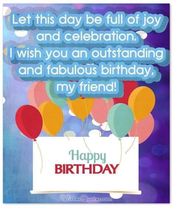 Fabulous Happy Birthday Card