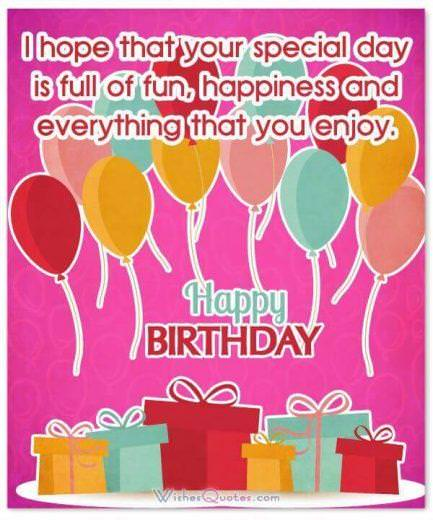 Special Happy Birthday Card