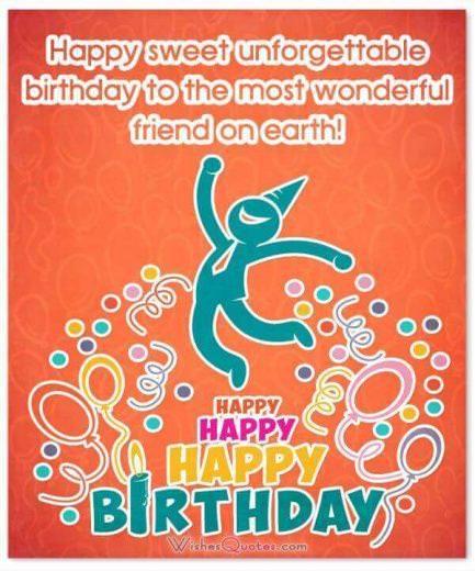 Unforgettable Happy Birthday Card