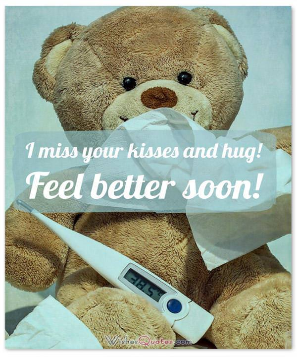 Get Well Soon Love Message