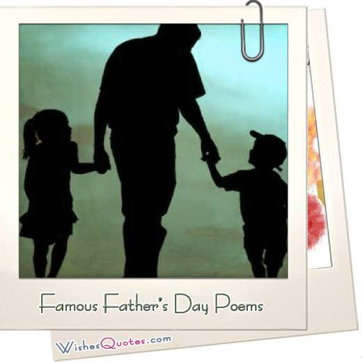 Famous Fathers Day Poems Featured Image