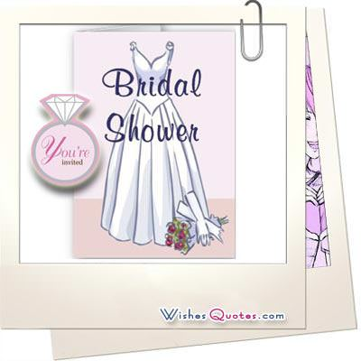 Bridal Shower Quotes and Wishes