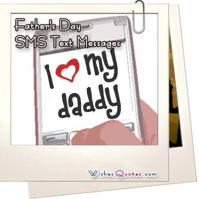Fathers day sms text messages