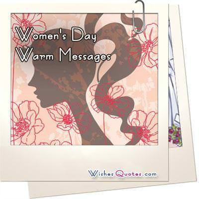 Women's Day Warm Messages