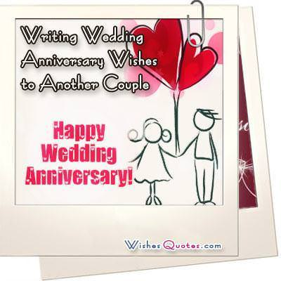 writing wedding anniversary wishes