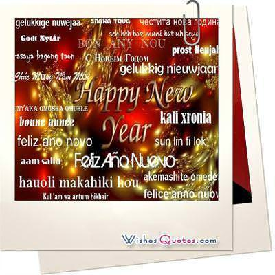 Happy New Year In All Languages