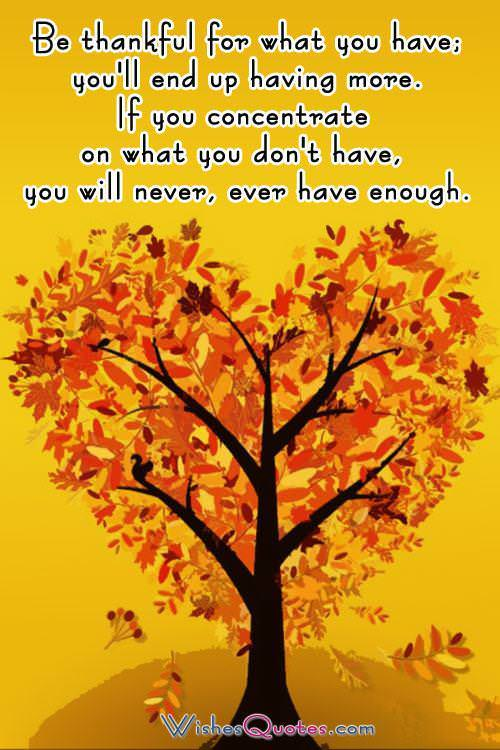 Thanksgiving Quotes And Cards To Share With Family And Friends