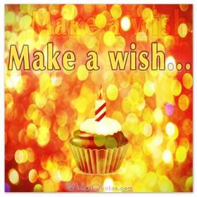 Birthday Wishes - Make a birthday wish. #birthdaywishes