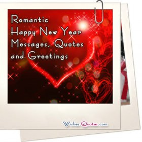 Romantic Happy New Year Messages