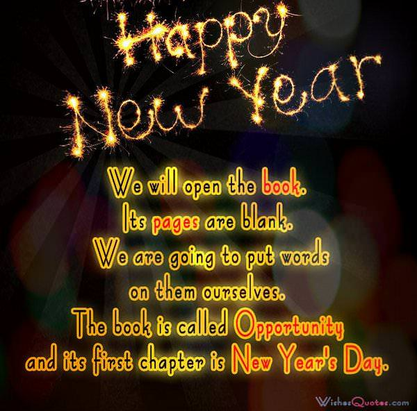 Inspirational New Year Quotes Beauteous Inspirational New Year Quotes And Messages