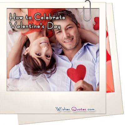 Celebrate valentines day