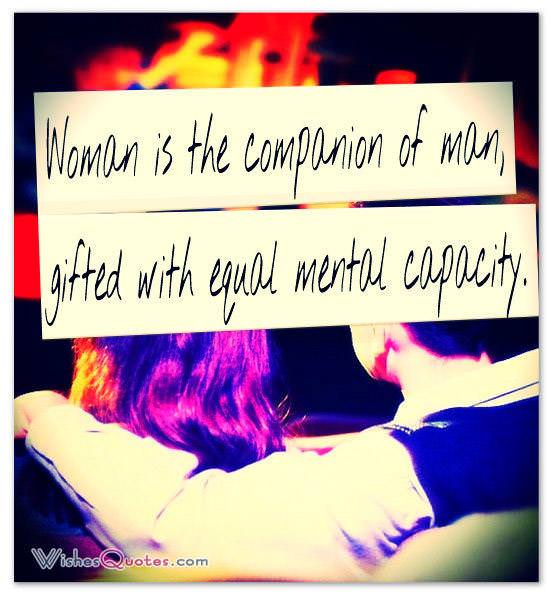 Woman-is-the-companion-of-man