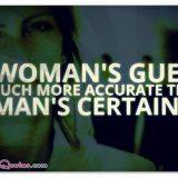 Womans guess