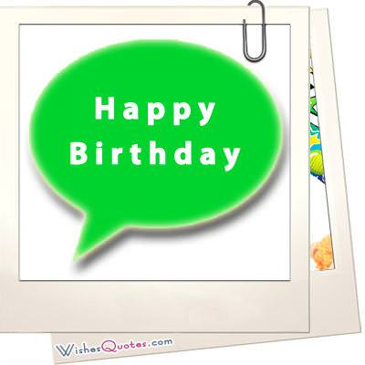 SMS Happy Birthday Text Messages