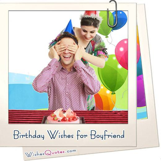Birthday Wishes For Your Cute Boyfriend By Wishesquotes