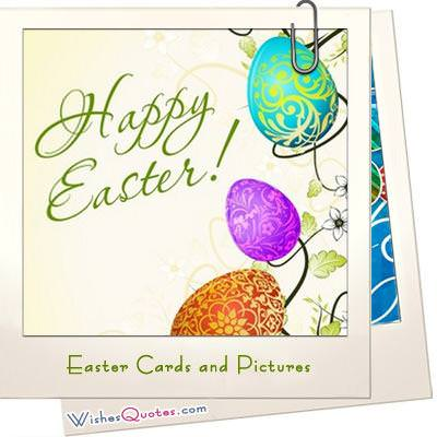 Easter cards and pictures