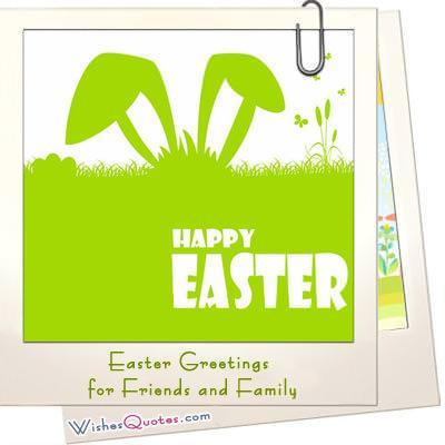 Easter greetings friends