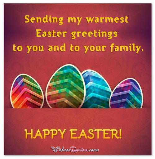 Happy easter wishes and greetings easter wishes m4hsunfo