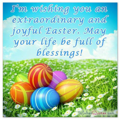 Easter cards and pictures easter messages sending my warmest easter greetings m4hsunfo