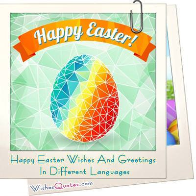 Happy easter wishes and greetings in different languages happy easter in different languages m4hsunfo