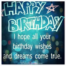 Birthday Wishes - Happy Birthday