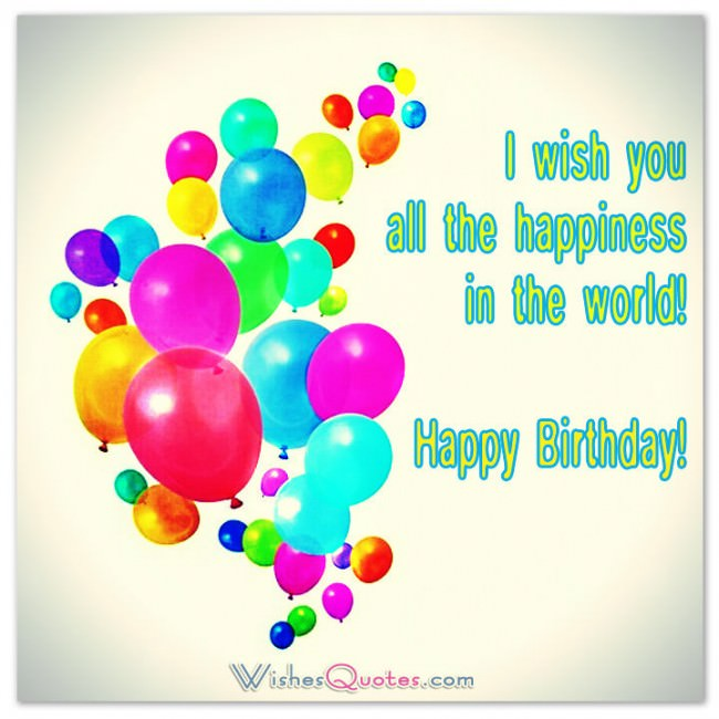 Happy Birthday Greeting Cards – Birthday Card with Quotes