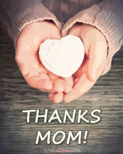 Mother's Day Cards - Thanks Mom
