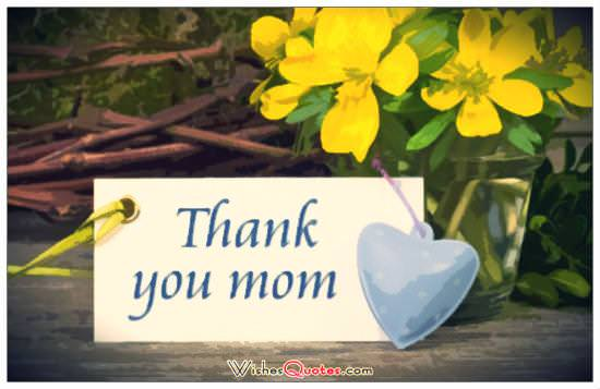 Mother's Day Cards - Thank you mom