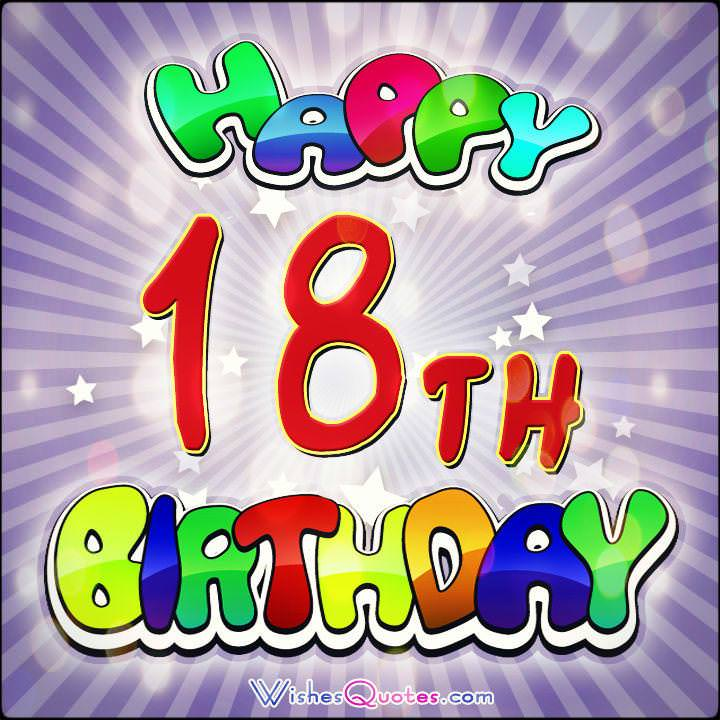 happy 18th birthday images