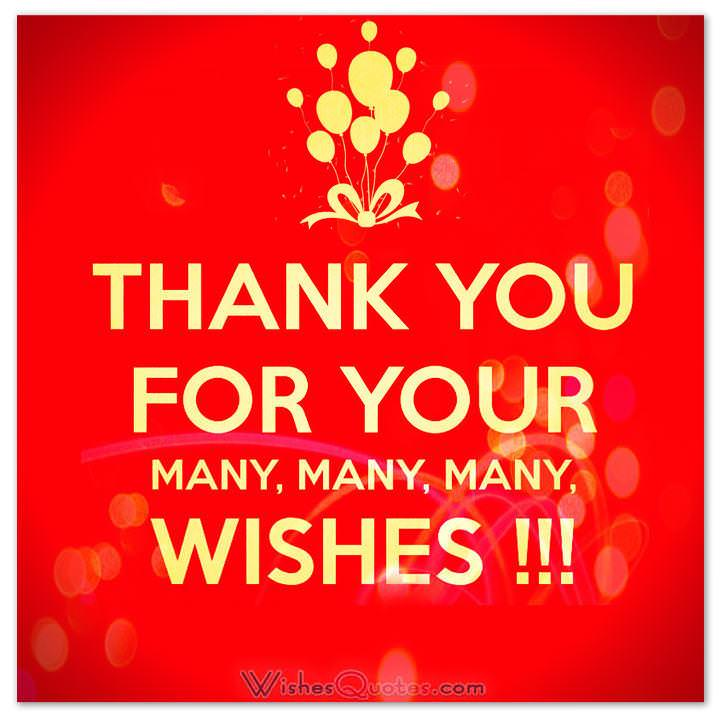 Thank You Messages For Birthday Wishes Happy Birthday Wishes Thank You