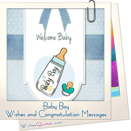 Baby Boy Wishes And Congratulation Messages Featured Image