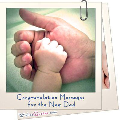 Congratulation messages dad