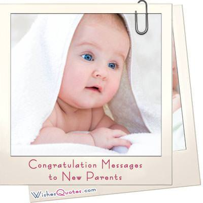 Congratulation messages new parents
