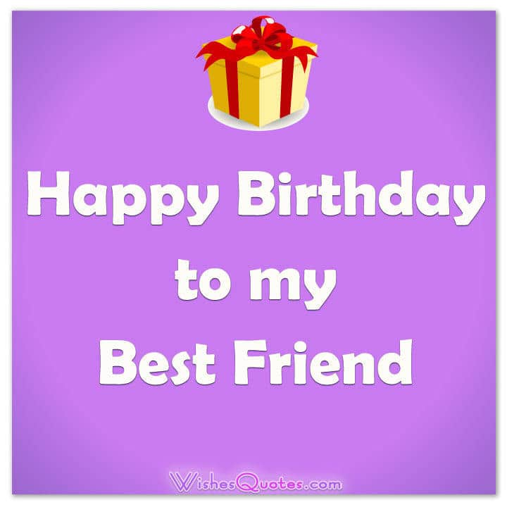 Happy Birthday To My Best Friend Birthdaywishes Bestfriend