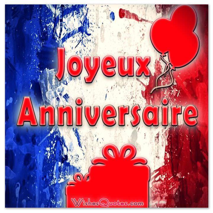 Birthday Greetings Translation French English