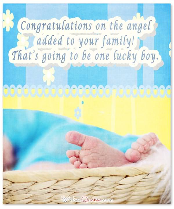 Congratulations for Baby Boy