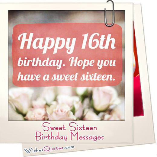 Sweet sixteen birthday featured