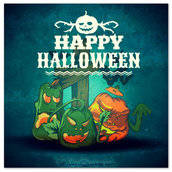 TRICK OR TREAT Halloween Monster. Halloween Card Halloween Card ...