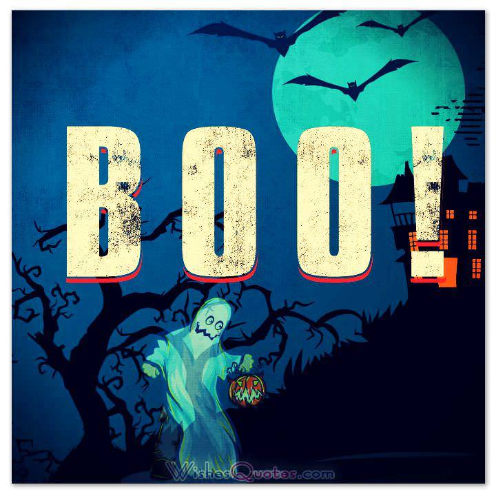 ... Happy Halloween Card 8 BOO