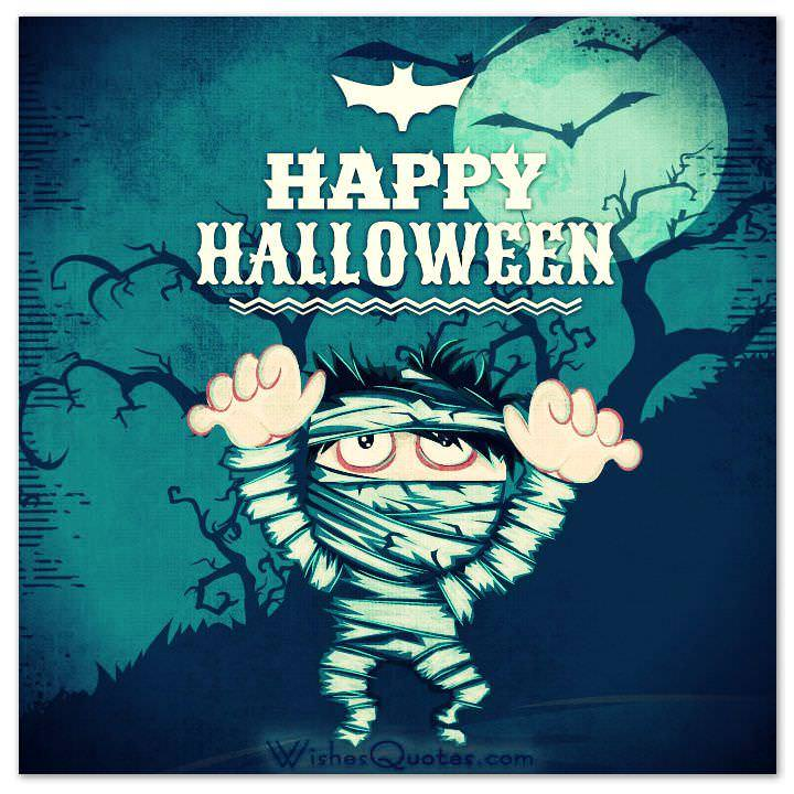 40 funny halloween quotes scary messages and free cards halloween card m4hsunfo