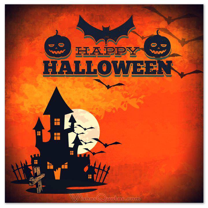 40 Funny Halloween Quotes Scary Messages And Free Cards . Halloween Greeting