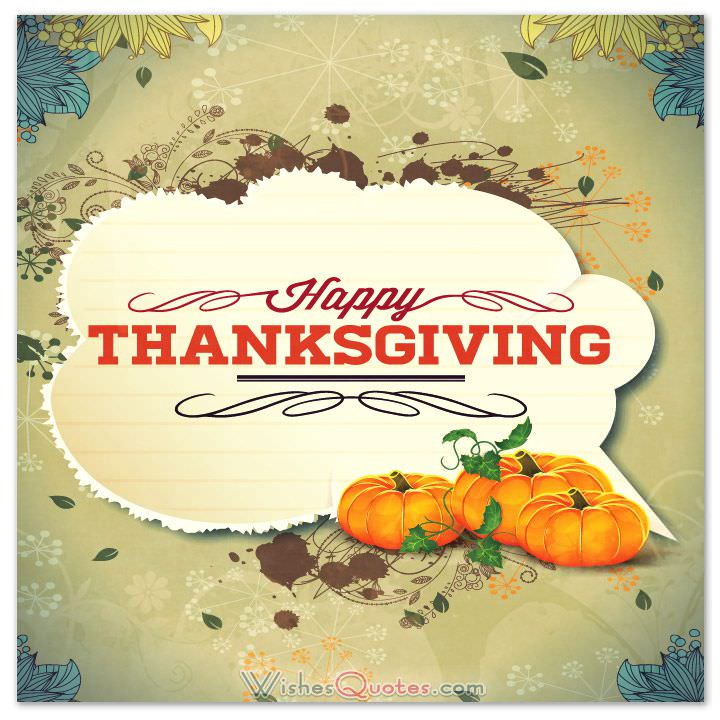 Happy thanksgiving wishes for the treasured people in your life thanksgiving card m4hsunfo