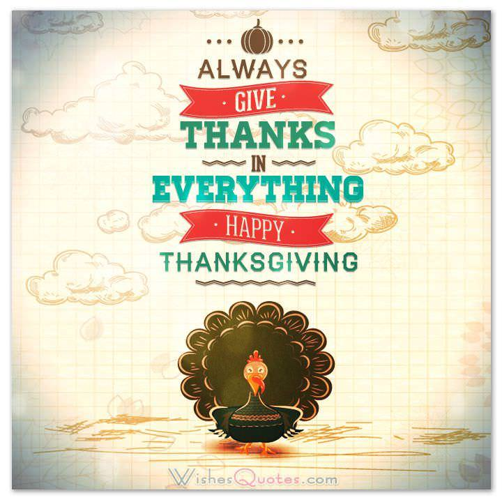 Happy Thanksgiving Greeting Cards – WishesQuotes