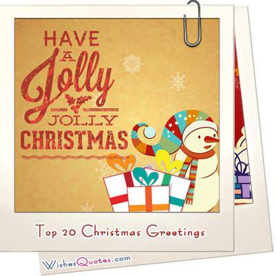 Top 20 christmas greetings image