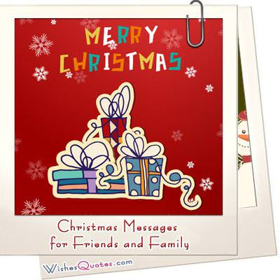Xmas messages for friends familyg m4hsunfo