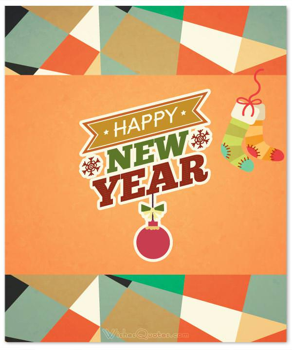 happy new year card new year