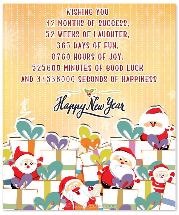 Funny New Year Messages By WishesQuotes